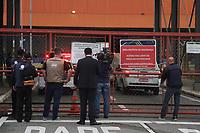 Campinas (SP), 28/11/2019 - Gugu-SP - Carro funerario chega ao aeroporto. Chegada no corpo do apresentador Augusto Liberato (Gugu) no aeroporto de Viracopos em Campinas, interior de Sao Paulo, na manha desta quinta-feira (28). (Foto: Luciano Claudino/Codigo 19/Codigo 19)