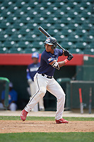 Alberto Fabian (9) during the Dominican Prospect League Elite Underclass International Series, powered by Baseball Factory, on August 2, 2017 at Silver Cross Field in Joliet, Illinois.  (Mike Janes/Four Seam Images)