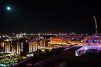 St. Louis at night.
