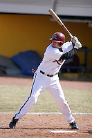 March 22nd 2009:  First baseman Matt McCollum (10) of the Rider University Broncs during a game at Sal Maglie Stadium in Niagara Falls, NY.  Photo by:  Mike Janes/Four Seam Images