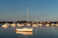 Sailboat, Wellfleet, Cape Cod, Massachusetts, USA