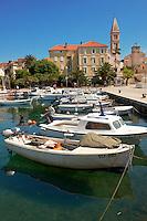 Bol harbour, Bra? island, Croatia