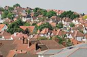 Suburban housing in Wembley, North London.