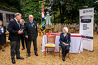 BNPS.co.uk (01202 558833)<br /> Pic: MaxWillcock/BNPS<br /> <br /> Pictured: Lorna Cockayne at the ceremony.<br /> <br /> A brilliant Bletchley Park codebreaker who enabled the Allies to read crucial messages before Adolf Hitler received them has today been awarded the prestigious Legion d'Honneur.<br /> <br /> Lorna Cockayne, now aged 96, worked on the 'Colossus' computer which cracked the Lorenz code used by German generals to brief the Nazi leader.<br /> <br /> She fed in tape and counted letters to decipher intercepted messages for eight hours daily without a break as the giant machine never stopped.<br /> <br /> The intelligence she uncovered was particularly important in the lead-up to the D-Day landings in June 1944.