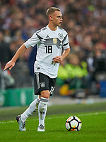 Joshua Kimmich, GER      <br /> ENGLAND - Germany 0-0<br /> Football: International Friendly, London, Great Britain, 10.11.2017<br /> <br />  *** Local Caption *** © pixathlon<br /> Contact: +49-40-22 63 02 60 , info@pixathlon.de