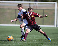 The Winthrop University Eagles played the UNC Wilmington Seahawks in The Manchester Cup on April 5, 2014.  The Seahawks won 1-0.  Patrick Barnes (11, Winthrop), Jamie Dell (11)