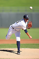 Brooks Brown - Surprise Rafters - 2010 Arizona Fall League.Photo by:  Bill Mitchell/Four Seam Images..