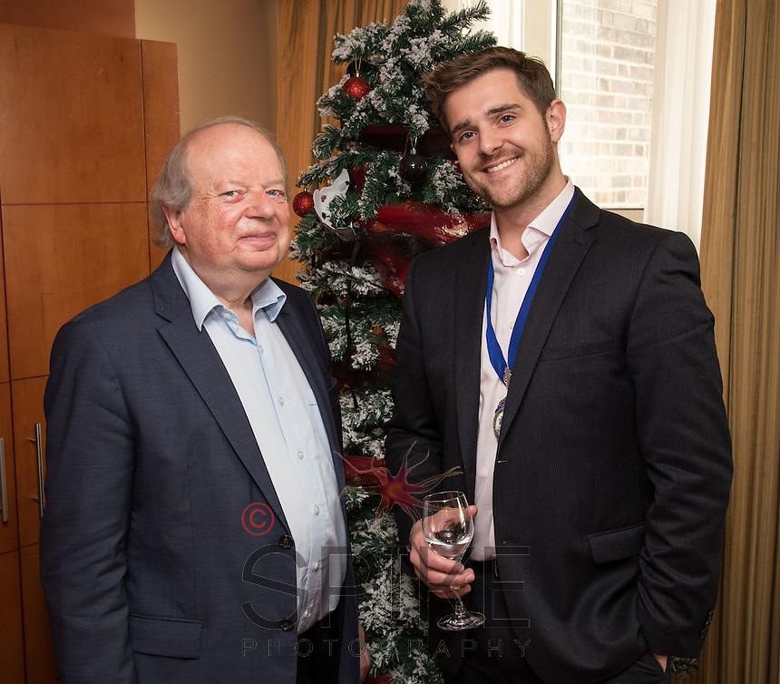 Keynote speaker John Sergeant with NCBC Club president Johnathan English