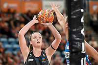 6th June 2021; Ken Rosewall Arena, Sydney, New South Wales, Australia; Australian Suncorp Super Netball, New South Wales, NSW Swifts versus Giants Netball; Sophie Dwyer of the Giants Netball prepares to shoot