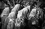 """Thursday in Plaza de Mayo, Buenos Aires. The mothers of the """"desaparecidos"""", desappeared, demostrating weekly since the period of the dictatorship."""