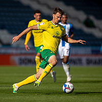 12th September 2020 The John Smiths Stadium, Huddersfield, Yorkshire, England; English Championship Football, Huddersfield Town versus Norwich City;  Christoph Zimmermann (C) of Norwich City
