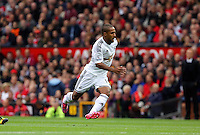 Pictured: Wayne Routledge of Swansea. Saturday 16 August 2014<br /> Re: Premier League Manchester United v Swansea City FC at the Old Trafford, Manchester, UK.