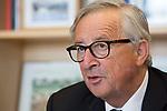 BRUSSELS, BELGIUM Friday, 20SEP19 Entrevista al Jean-Claude Juncker presidente saliente el 31 de Octubre de 2019 © Delmi Álvarez