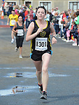 Emma Fay was 3rd lady home in the Integral Clogherhead 10K. Photo:Colin Bell/pressphotos.ie