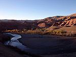 The Dades Valley near Skoura in Morocco.