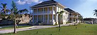 Iles Bahamas / New Providence et Paradise Island / Nassau: La villa historique Doyle construite en 1860 abrite la Galerie Nationale d'Art des Bahamas