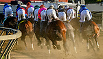 October 3, 2020: Scenes from around Pimlico during Preakness Stakes Day at Pimlico Race Course in Baltimore, Maryland. the race was run without fans and with minimal attendance for connections of race horses due to the yearlong coronavirus pandemic. Scott Serio/Eclipse Sportswire/CSM