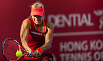 Samantha Stosur of Australia vs Angelique Kerber of Germany during the WTA Prudential Hong Kong Tennis Open at the Victoria Pack Stadium on 17 October 2015 in Hong Kong, China. Photo by Aitor Alcalde / Power Sport Images