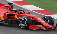 13th November 2020; Istanbul Park, Istanbul, Turkey; FIA Formula One World Championship 2020, Grand Prix of Turkey, Free practise sessions;  5 Sebastian Vettel GER, Scuderia Ferrari Mission Winnow