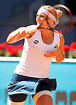 Timea Bacsinszky, Switzerland, during Madrid Open Tennis 2016 match.May, 4, 2016.(ALTERPHOTOS/Acero)