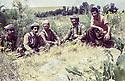 Iran 1980<br /> In Sheikhan, from left to right, Ezzedin Berwari, Hoshyar Zibari, Dr. Mohammed Saleh Goma, Falak Eddine  <br /> Iran 198O <br /> De gauche a droite, a Sheikhan, Ezzedine Berwari, Hoshyar Zibari, Mohammed Saleh Goma, Failak Eddin Kakai