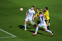 160207 A-League Football - Wellington Phoenix v Perth Glory