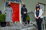 Teachers from the Kerry College of Further Education stand at the Seanchai- Kerry Literary and Cultural Centre in Listowel, 90 years on from when the community college first started in Listowel. L to r: Maria Fitzgerald, Elaine O'Connor and Michelle Murphy