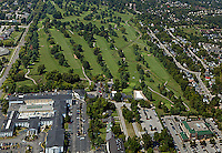aerial photograph golf course Lexington, Kentucky