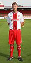 Luke Jones of Stevenage<br />   Stevenage FC Team Photoshoot - Lamex Stadium, Stevenage - 16th July, 2013<br />  © Kevin Coleman 2013