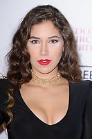 Yasmine Alice<br /> arriving for the Critic's Circle Film Awards 2018, Mayfair Hotel, London<br /> <br /> <br /> ©Ash Knotek  D3374  28/01/2018