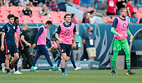 DENVER, CO - JUNE 3: Josh Sargent #9 of the United States celebrates during a game between Honduras and USMNT at EMPOWER FIELD AT MILE HIGH on June 3, 2021 in Denver, Colorado.