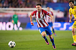Saul Niguez Esclapez of Atletico de Madrid in action during their 2016-17 UEFA Champions League match between Atletico Madrid and FC Rostov at the Vicente Calderon Stadium on 01 November 2016 in Madrid, Spain. Photo by Diego Gonzalez Souto / Power Sport Images