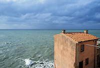 - the small ancient village of Tellaro ....- il piccolo paese antico di Tellaro