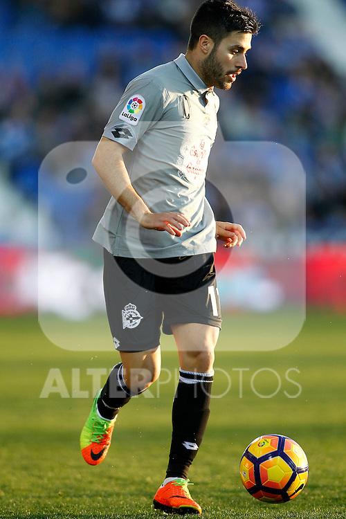 Deportivo de la Coruna's Carles Gil during La Liga match. February 25,2017. (ALTERPHOTOS/Acero)