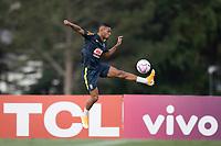 7th October 2020; Granja Comary, Teresopolis, Rio de Janeiro, Brazil; Qatar 2022 qualifiers; Renan Lodi of Brazil during training session
