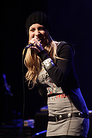 Marie-Mai Bouchard<br />  on stage at the<br /> XM Radio First Anniversary at Club Soda in Montreal, January 30, 2007<br /> <br /> Photo : Pierre Roussel / Images Distribution