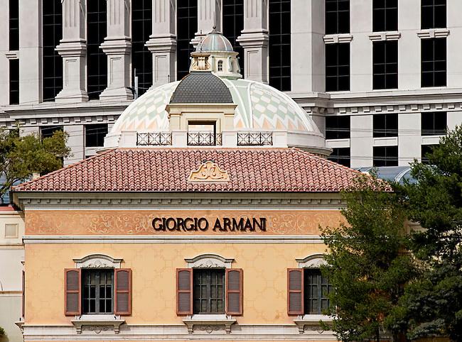 Giorgio Armani, Bellagio Casino, Las Vegas, Nevada