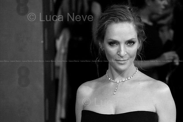 Uma Thurman, American Actress.