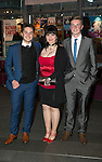 St Johnstone FC Hall of Fame Dinner, Perth Concert Hall….03.04.16<br /> Beverley Mayer with sons Ruari and Blair Kaylor<br /> Picture by Graeme Hart.<br /> Copyright Perthshire Picture Agency<br /> Tel: 01738 623350  Mobile: 07990 594431