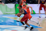 Valencia Basket's Antoine Diot and FCB Lassa's Alex Renfroe during Semi Finals match of 2017 King's Cup at Fernando Buesa Arena in Vitoria, Spain. February 18, 2017. (ALTERPHOTOS/BorjaB.Hojas)