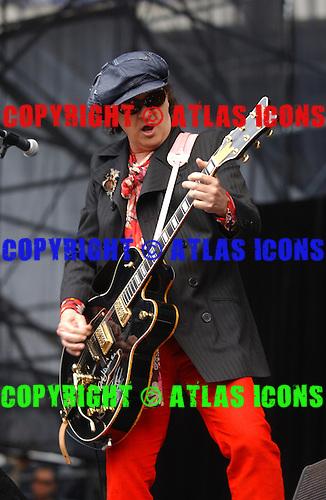 New York Dolls; Sylvain Sylvain;.Photo Credit: Eddie Malluk/Atlas Icons.com
