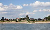 Nederland  Nijmegen  - September 2020 .  De Waal. Veur-Lent.    Foto : ANP/ Hollandse Hoogte / Berlinda van Dam