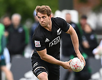 22nd May 2021; Grammar Tec, Auckland New Zealand; All Blacks Sevens versus Australia, Trans-Tasman Sevens;  Scott Curry.