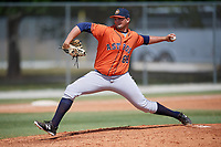 Houston Astros pitcher Tim Hardy (68) during a Minor League Spring Training game against the St. Louis Cardinals on March 27, 2018 at the Roger Dean Stadium Complex in Jupiter, Florida.  (Mike Janes/Four Seam Images)