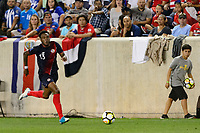 Harrison, NJ - Friday July 07, 2017: Rodney Wallace during a 2017 CONCACAF Gold Cup Group A match between the men's national teams of Honduras (HON) vs Costa Rica (CRC) at Red Bull Arena.