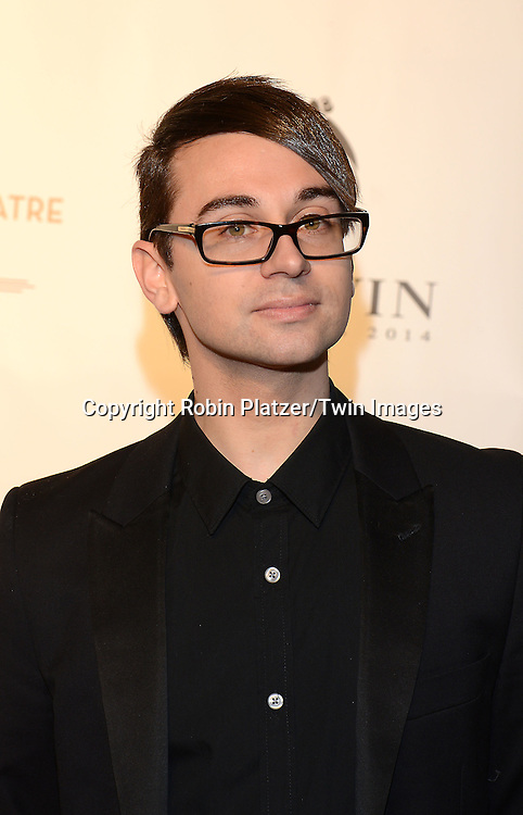 Christian Siriano attends the Opening Night of American Ballet Theatre 2014 Fall Gala on October 22,2014 at the David Koch Theater at Lincoln Center in New York City. <br /> <br /> photo by Robin Platzer/Twin Images<br />  <br /> phone number 212-935-0770