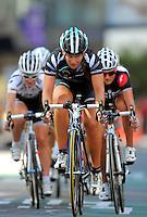 NZ's Melanie Burke. NZCT Women's Cycling Tour of New Zealand Stage 6 - Criterium at Lambton Quay, Wellington, New Zealand on Sunday, 27 February 2011. Photo: Dave Lintott / lintottphoto.co.nz