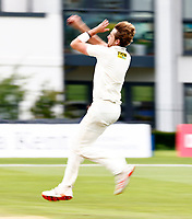 Matt Quinn bowls for Kent during Kent CCC vs Sussex CCC, LV Insurance County Championship Group 3 Cricket at The Spitfire Ground on 14th July 2021