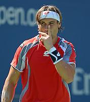 FLUSHING NY- SEPTEMBER 9: Novak Djokovic Vs David Ferrer in the mens semi finals on Arthur Ashe Stadium at the USTA Billie Jean King National Tennis Center on September 9, 2012 in in Flushing Queens. Credit: mpi04/MediaPunch Inc. ***NO NY NEWSPAPERS*** /NortePhoto.com<br /> <br /> **CREDITO*OBLIGATORIO** *No*Venta*A*Terceros*<br /> *No*Sale*So*third*...