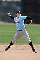 January 16, 2010:  Bradley (Brad) Markey (Bel Air, MD) of the Baseball Factory Coastal Team during the 2010 Under Armour Pre-Season All-America Tournament at Kino Sports Complex in Tucson, AZ.  Photo By Mike Janes/Four Seam Images